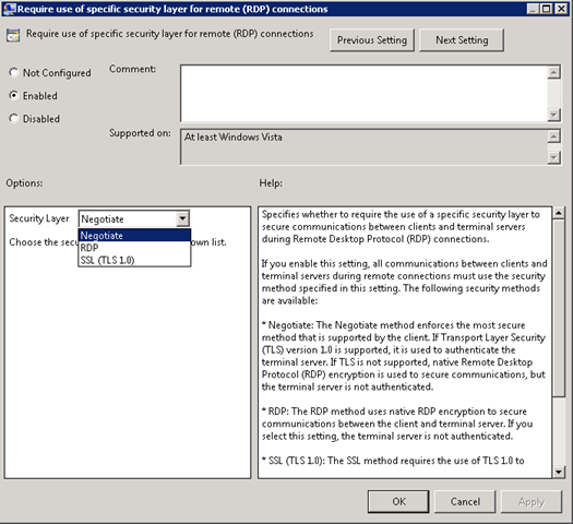 Single Sign-On to Remote Desktop Services « blog powershell no