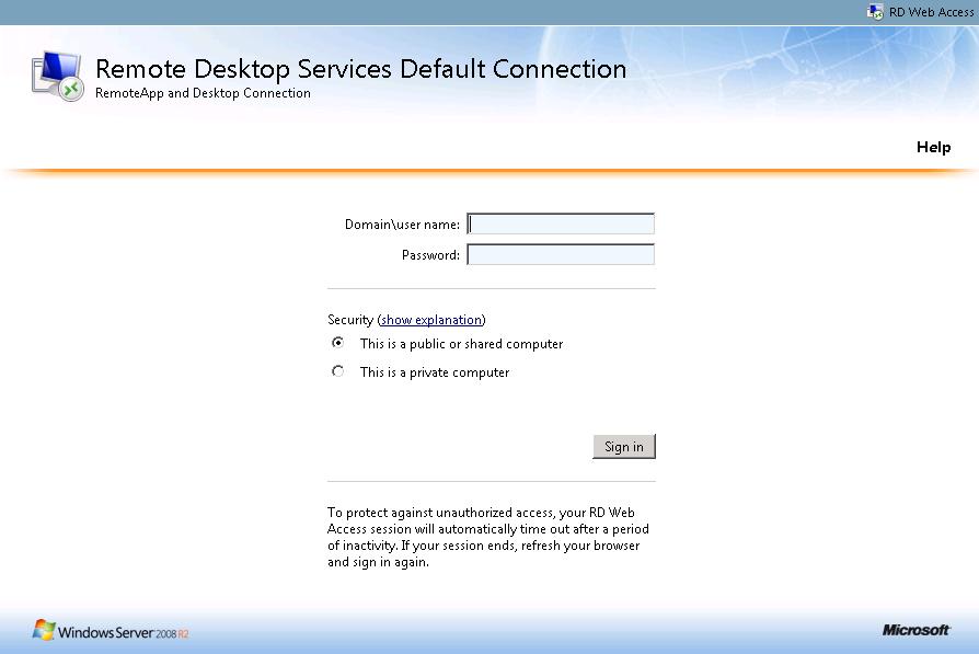 rd web access « blog powershell no