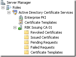 Working with active directory certificate services from windows more advanced administration options is available through the command line utility certutilexe yadclub Image collections