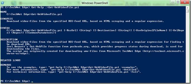 TechNet Edge « blog powershell no